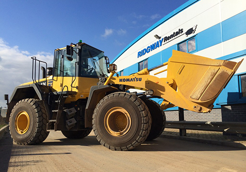 nationwide loading shovel hire