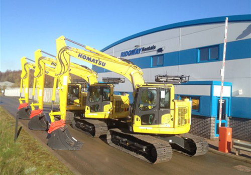 nationwide 13 ton excavator hire